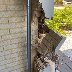 Garage Vehicle Damage #1