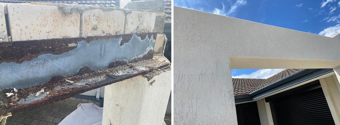 Lintel Brick Repairs