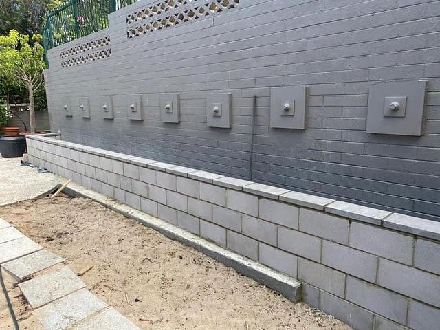Brick Retainer Wall