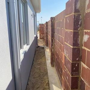 Brick Rendered Wall Repairs